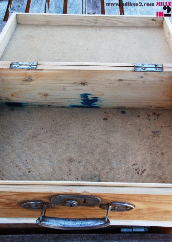 Rénovation d'une vieille valise