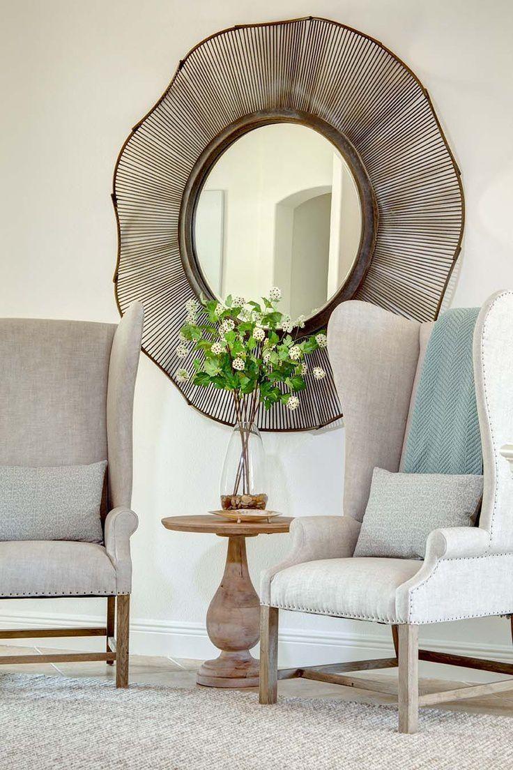 Un miroir à l'intérieur