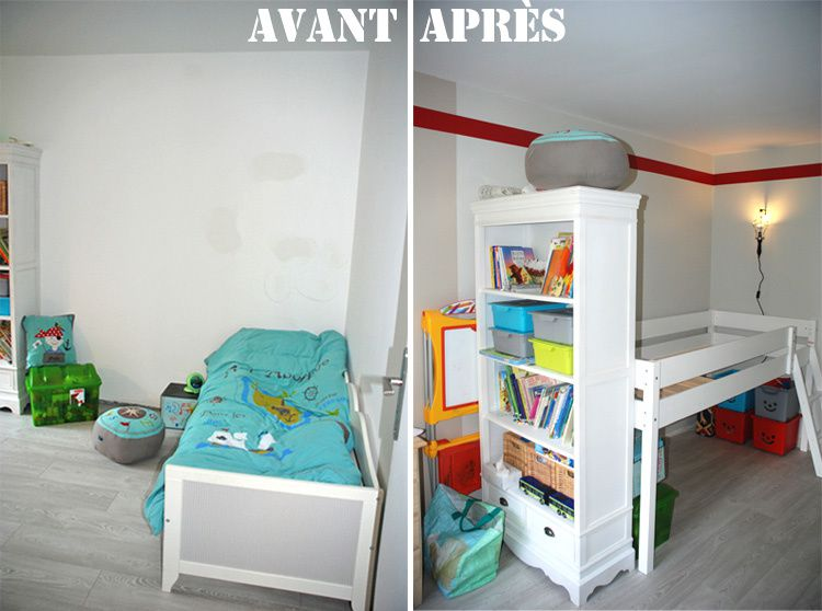 Enfant mille m tres carr s for Amenagement chambre 2 enfants