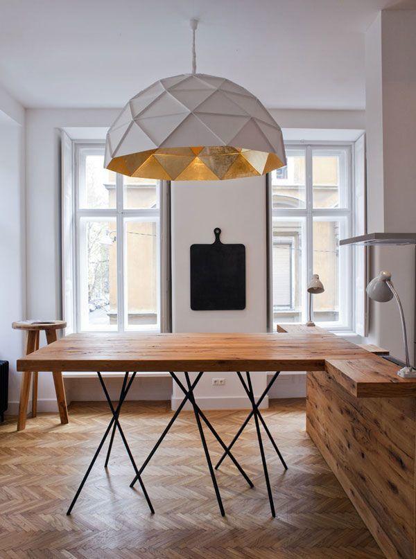 Idées: comment bien éclairer la table de salle à manger