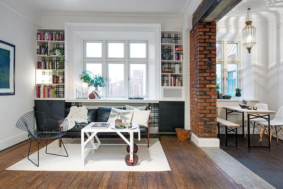Petits espaces - un appartement à Goteborg