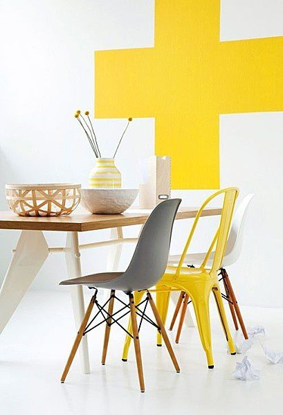 Couleurs inspirations: le jaune.