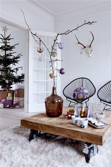 Noël en violet