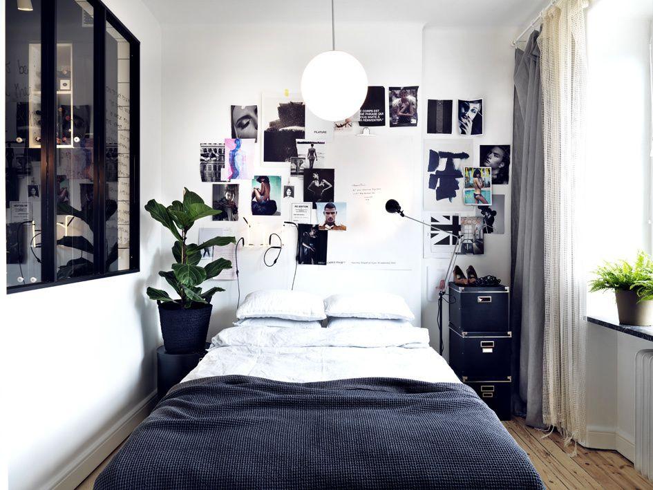 Un appartement suédois en teintes de gris.