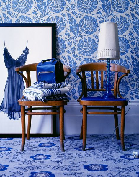 Inspirations bleues
