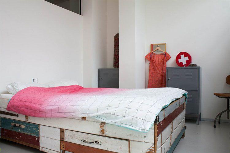 Un appartement récup à Amsterdam