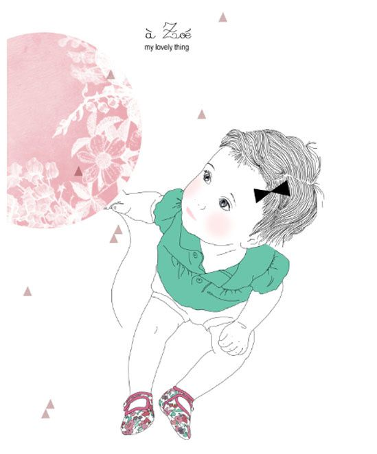 My lovely thing - illustrations tout en douceur