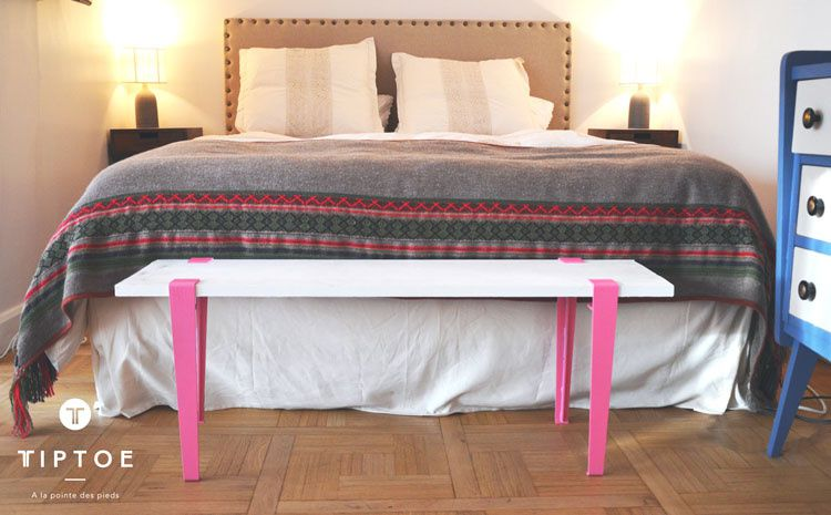 TIPTOE - des pieds pour créer un meuble unique