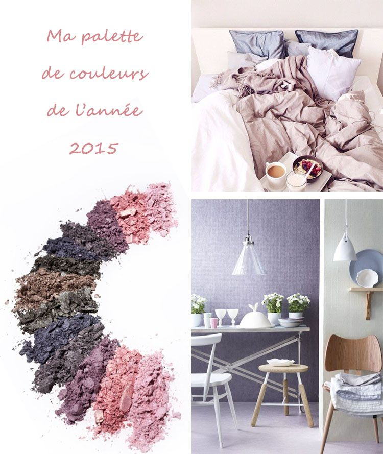 Mes Couleurs 2015 Le Vieux Rose Et Le Gris Myrtille Mille Metres