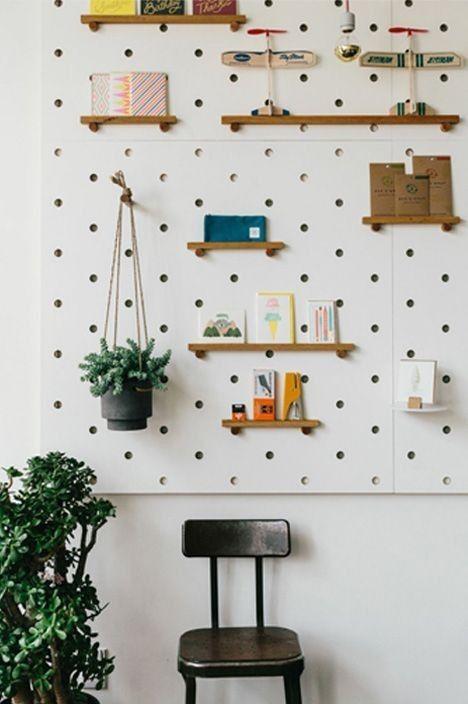 les id es infinies autour du panneau perfor mille m tres carr s. Black Bedroom Furniture Sets. Home Design Ideas