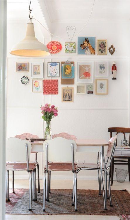 Des astuces pour une salle à manger chaleureuse en blanc