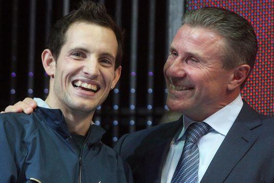 15 février 2014 : Renaud Lavillenie bat le record du monde de Sergueï Bubka.