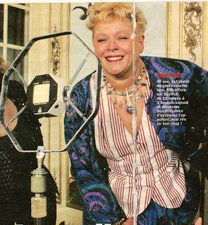 Catherine Pelletier (Supernana) a quitté le Crédit Lyonnais pour la radio Carbone 14 au début des années 80.