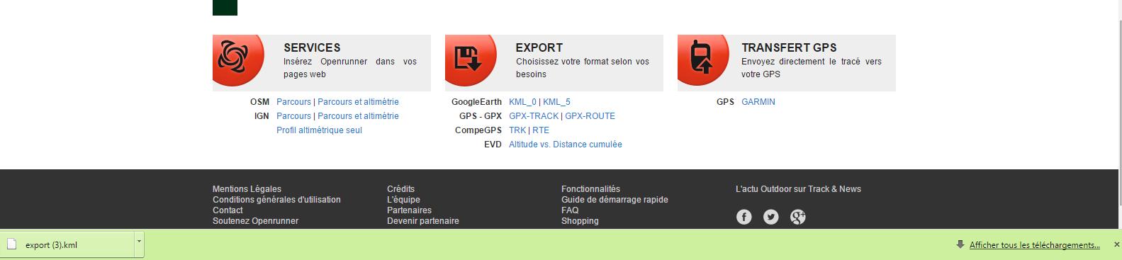 Comment exporter un parcours d'Openrunner sur votre SUUNTO 2S ?