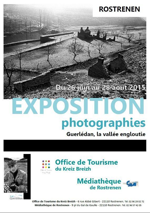 Guerlédan, la vallée engloutie : exposition photographique