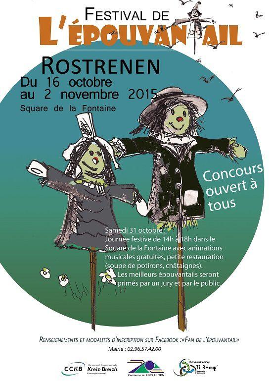 Le Festival de l'épouvantail à Rostrenen
