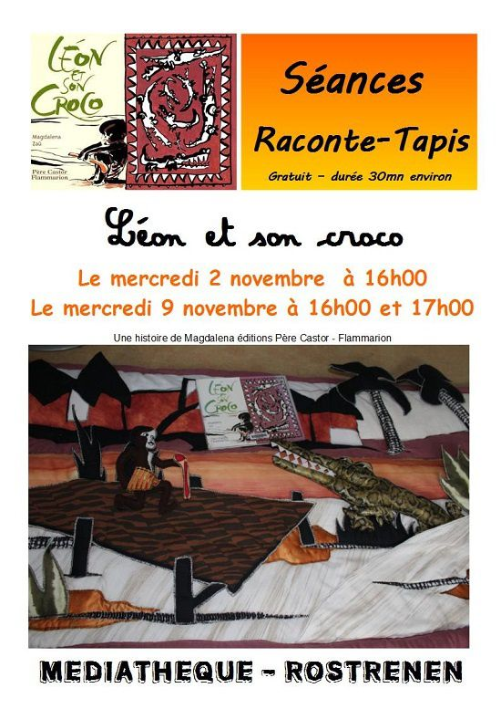 Animation jeunesse : Raconte-tapis