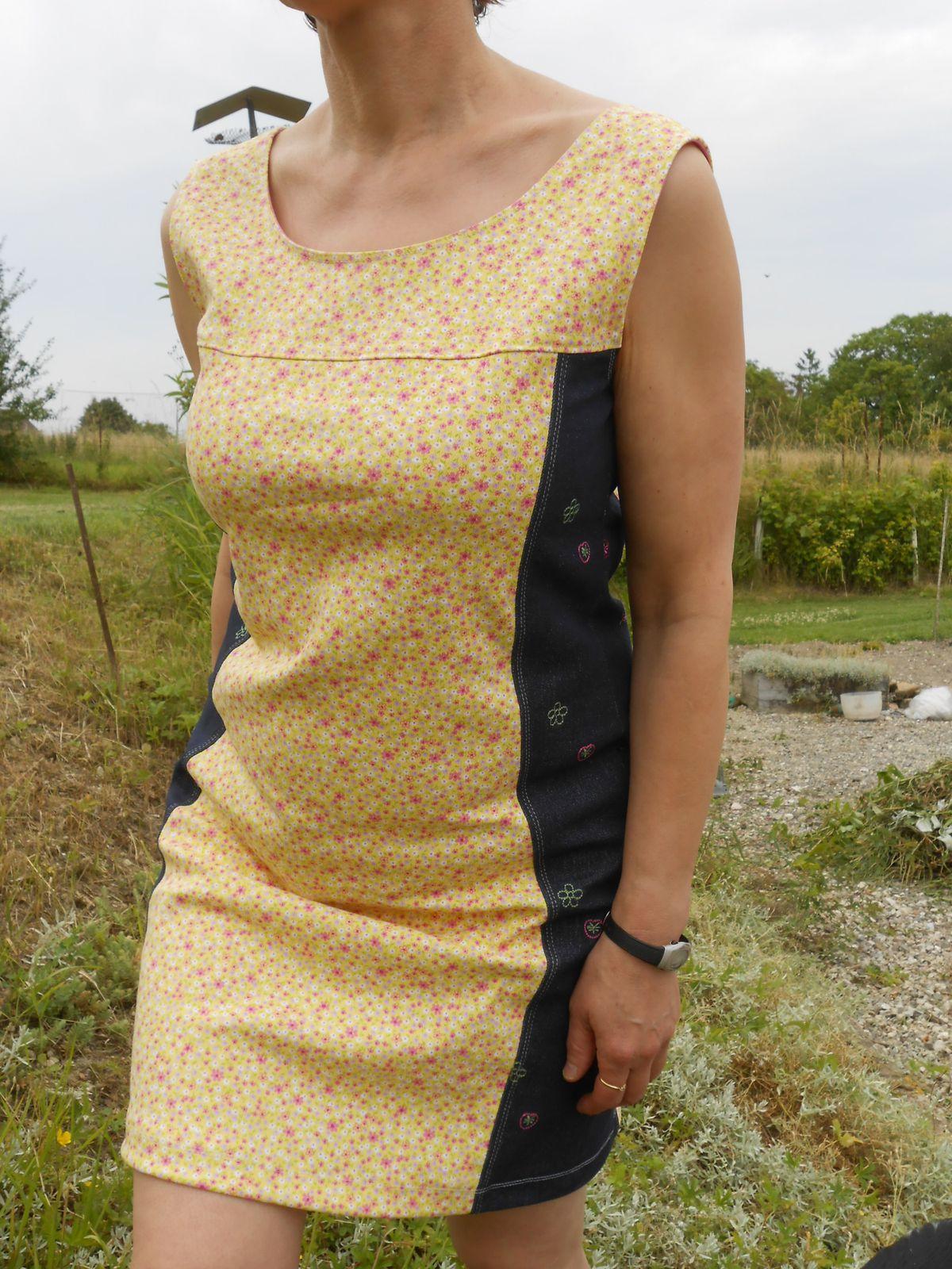 Ma robe un peu jaune