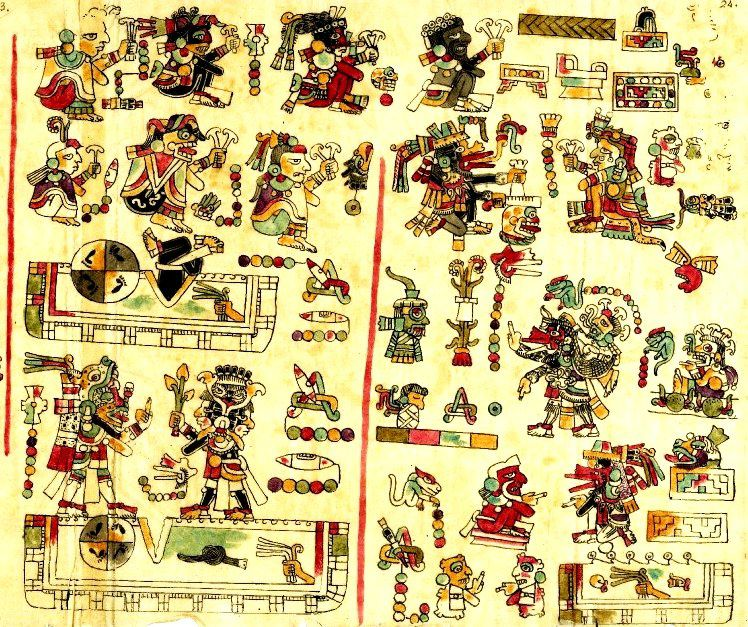 Codex Vindobonensis Mexicanus 1, aussi connu comme Codex de Vienne