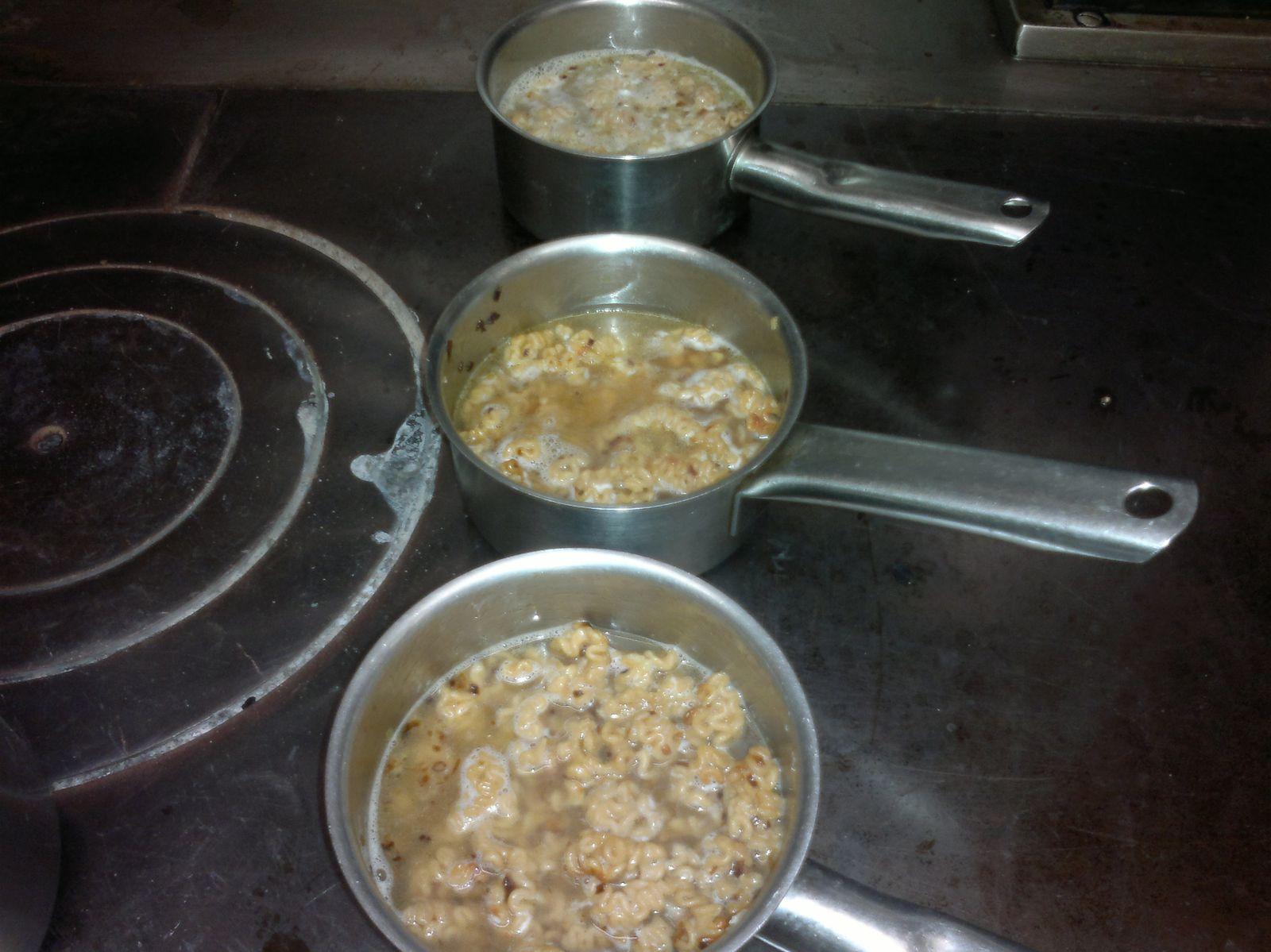 Mise au point d 39 une recette pisodes 6 et 7 lutter pour for Resultat cap cuisine