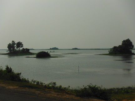 sur la route de Chilika Lake