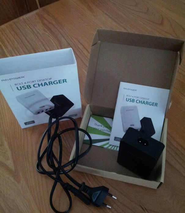 L USB Charger RAVPOWER RP-UC07 en images !