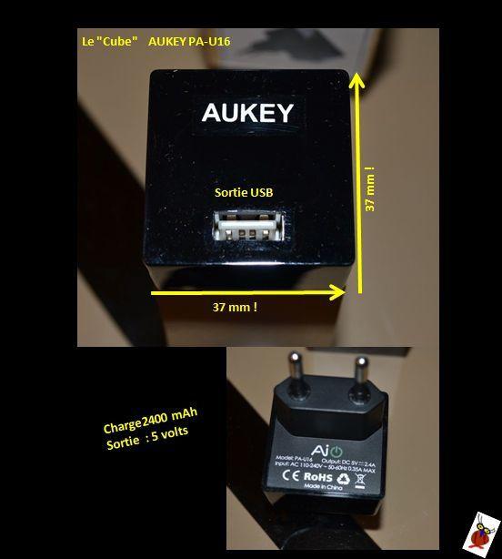 AUKEY PA-U16 , le cube de charge compact en images  !