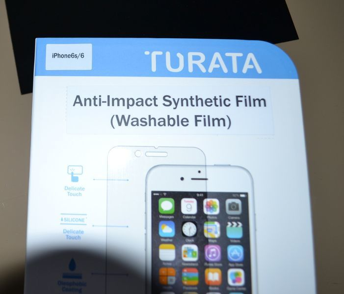 TURATA, des films de protection de qualité pour votre I-Phone 6 !
