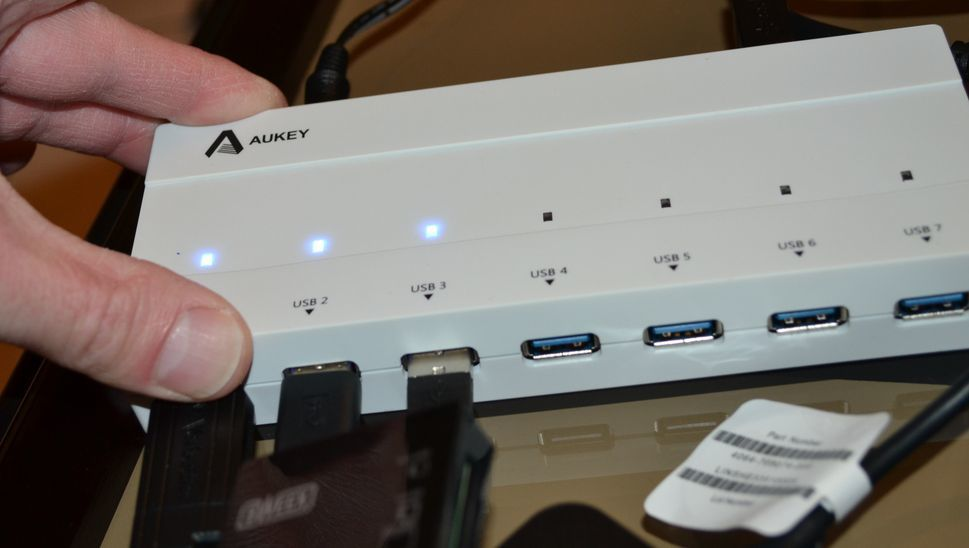 Concentrateur AUKEY - 727 RK-U3 . Le Test