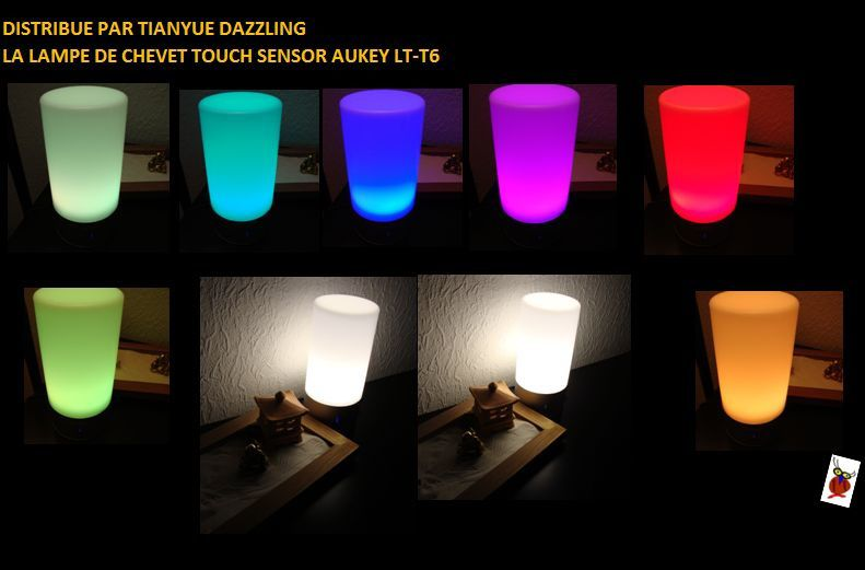 LAMPE A TOUCH CONTROL AUKEY LT-T6 DISTRIBUE PAR TIANYUE DAZZLING