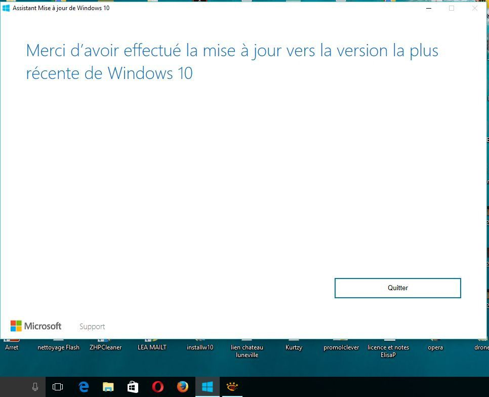 "Restone, la ""grosse"" mise à jour de Windows 10"