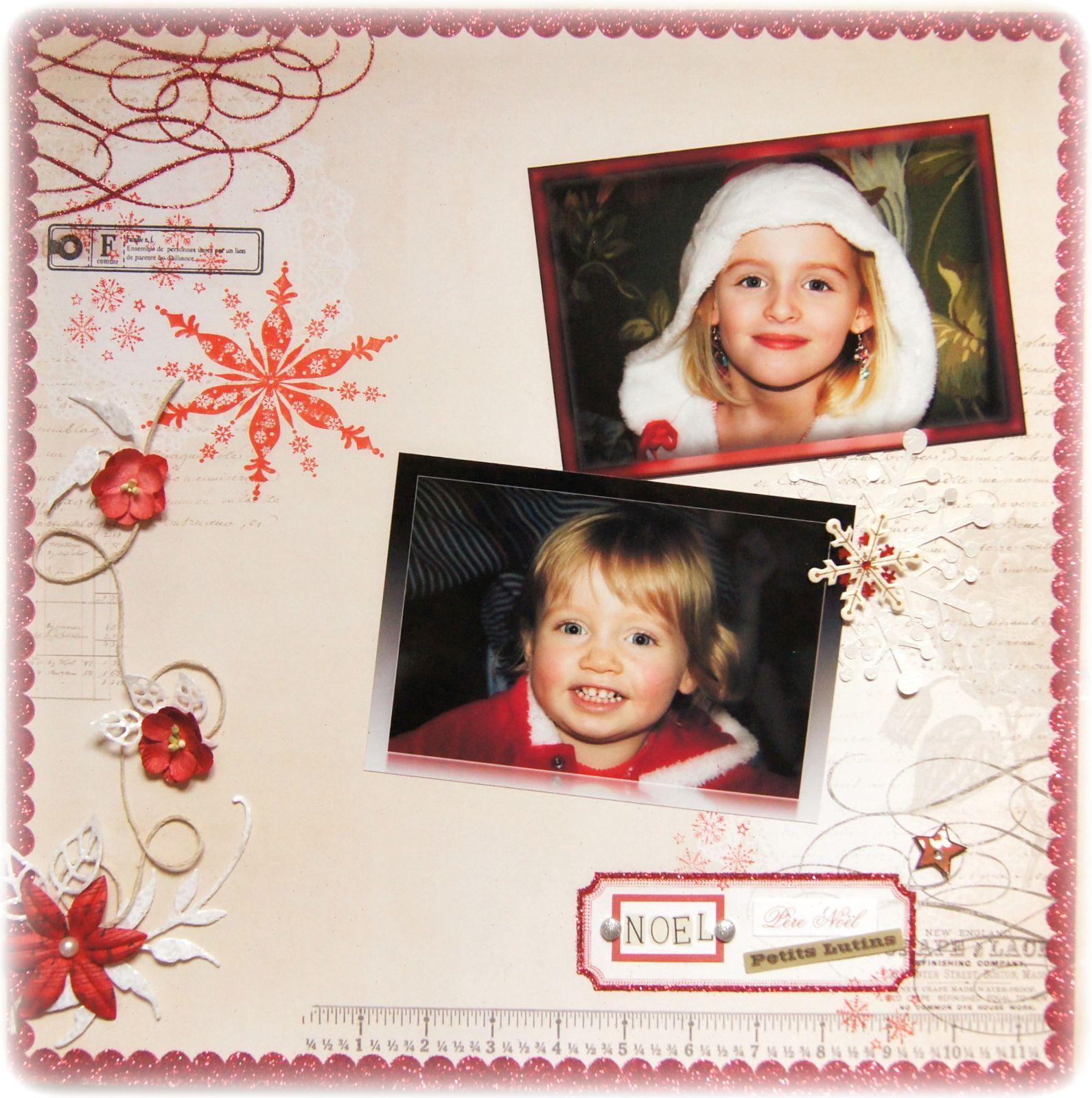 Jade et Lisa-  Noël