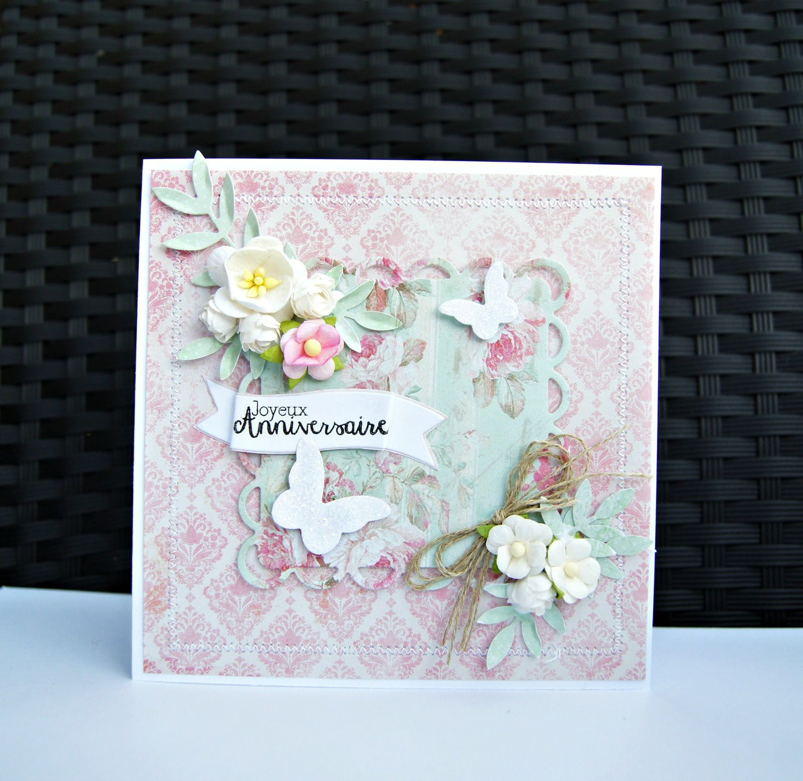 World card making Day : défi Shabby