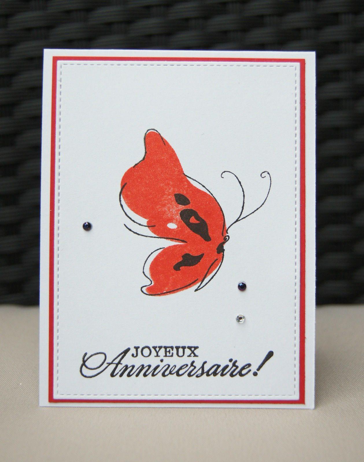 série de papillons : 3 cartes, 3 couleurs