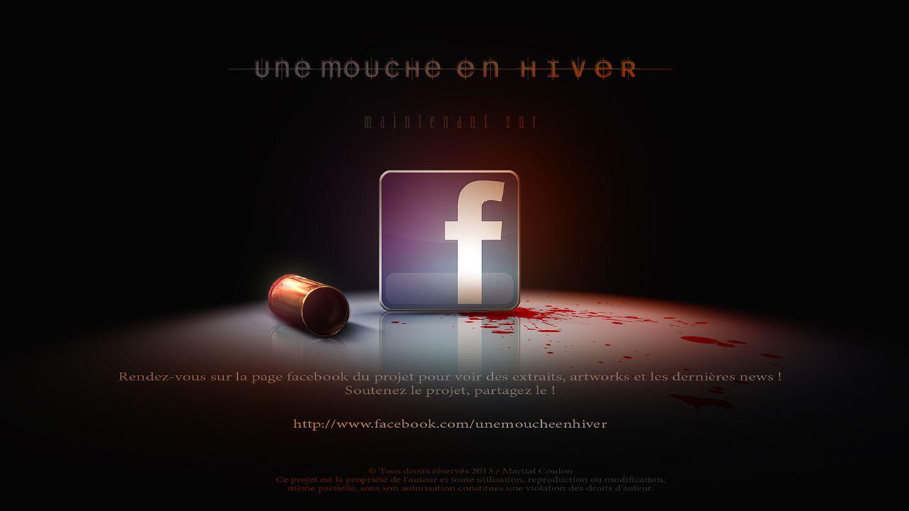 La page facebook Une mouche en hiver !