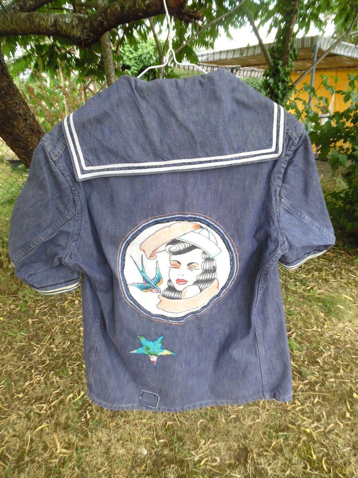 vestes customisées