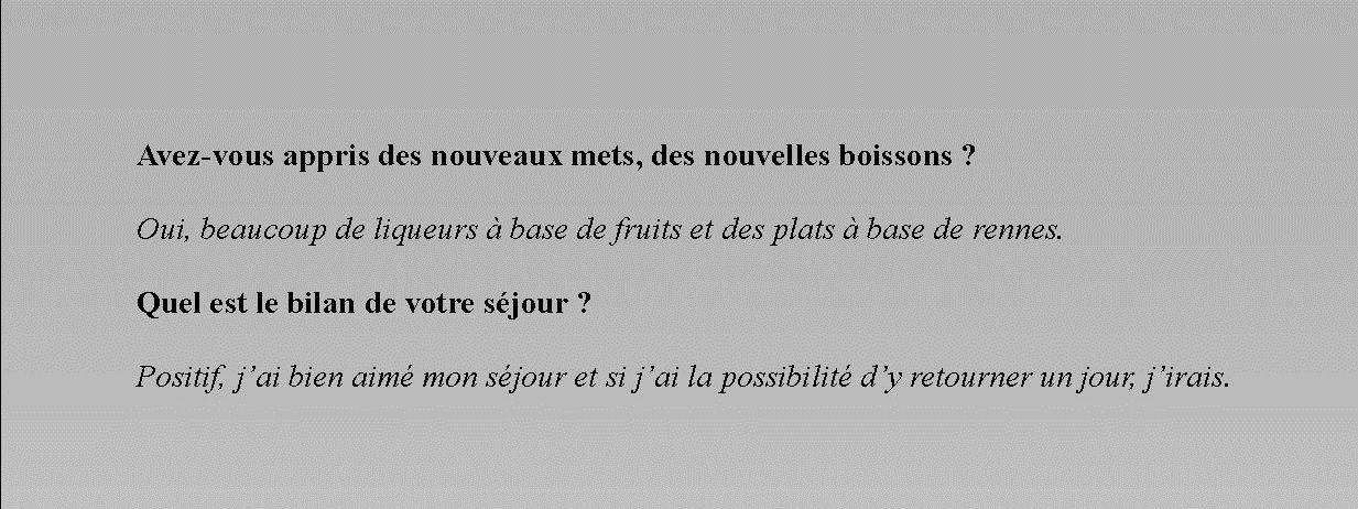 Interview de Pierre Dominique