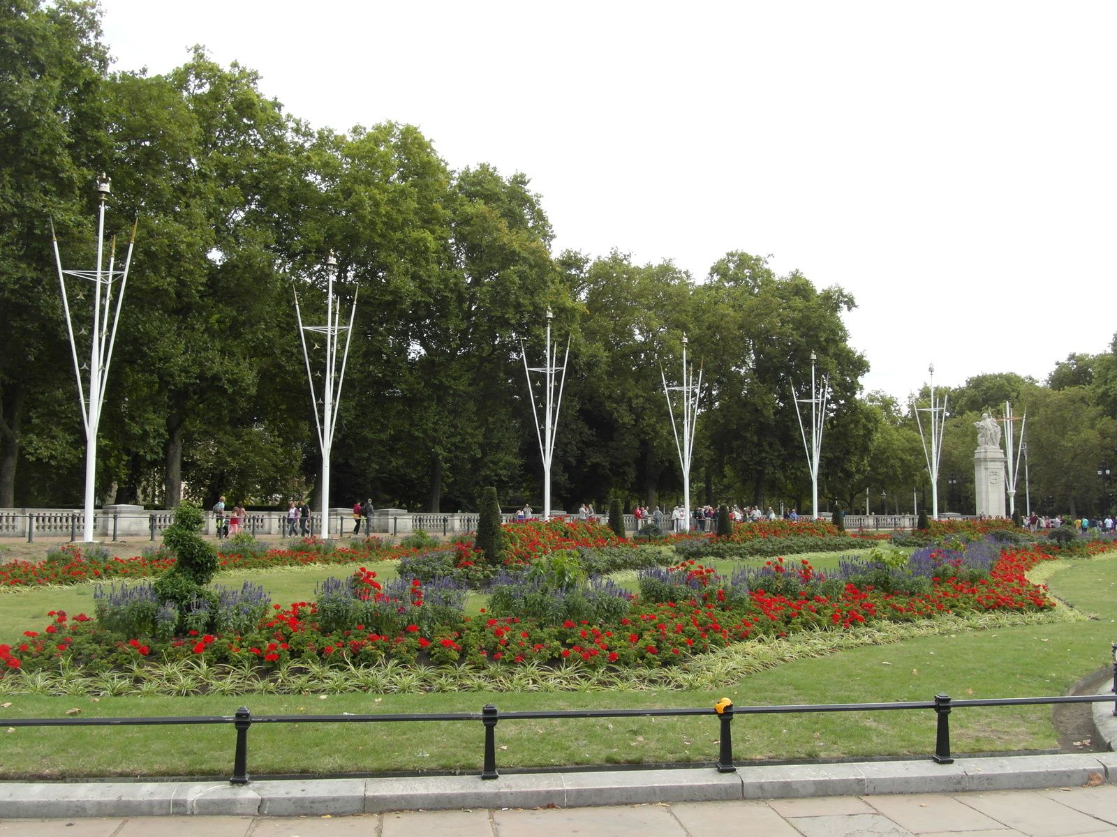 Jardins aux abords de Buckingham
