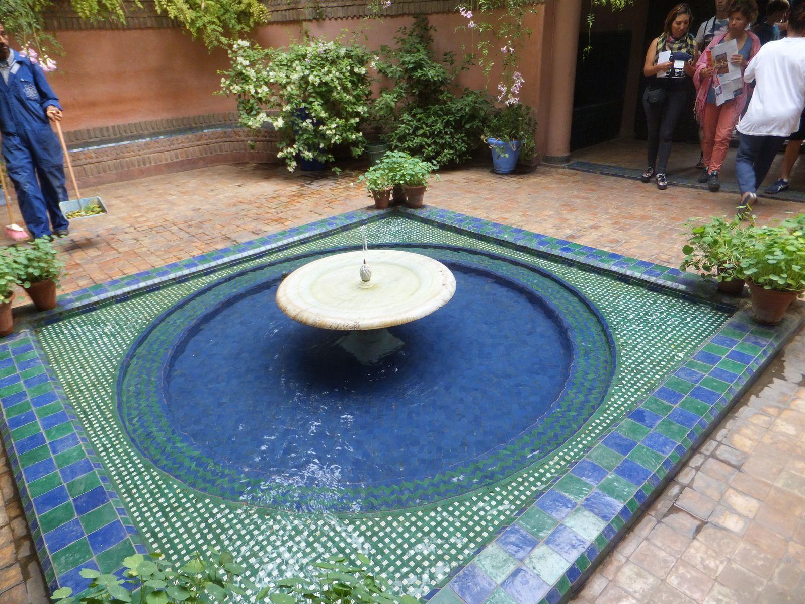 Fontaine de l'entrée