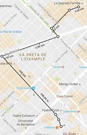 Carte Eixample Barcelone.Barcelone L Eixample Le Quartier Du Modernisme Les Randos De Caco
