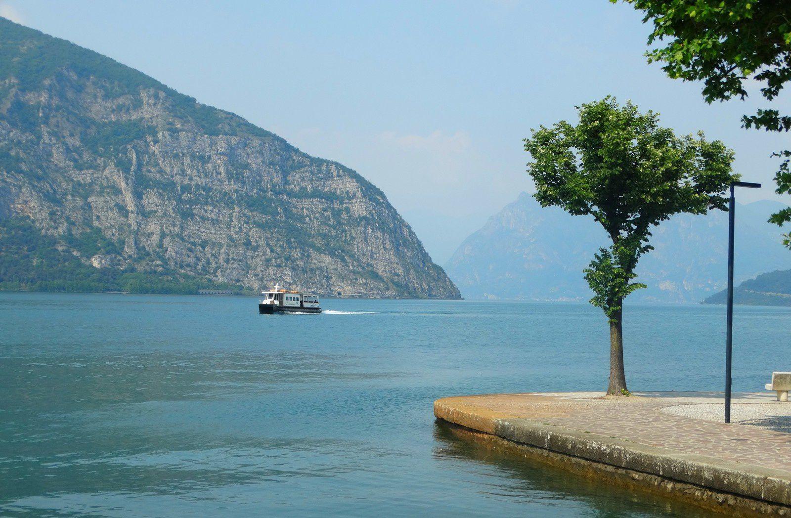 Le lac depuis Iseo