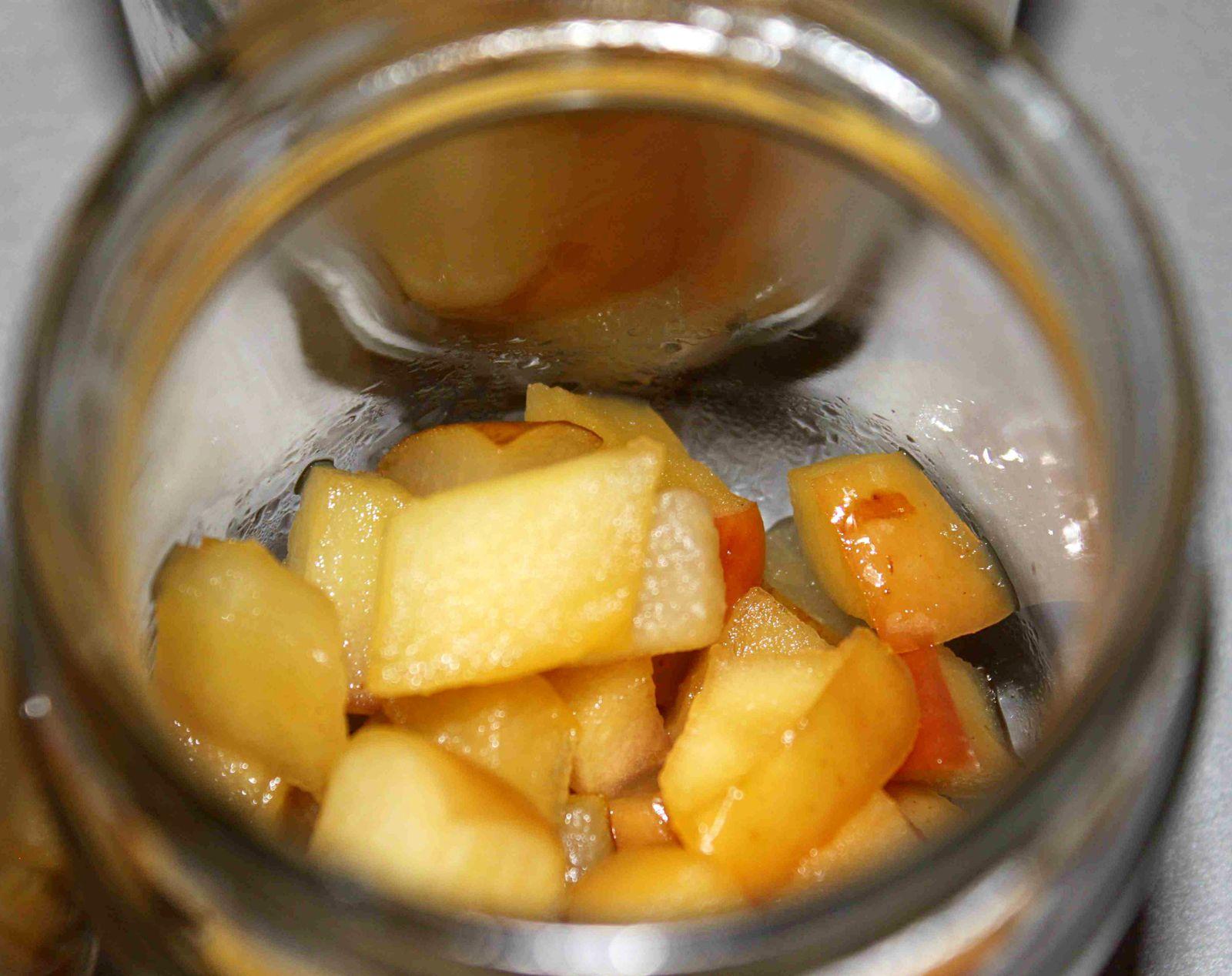 Yaourt pomme poire