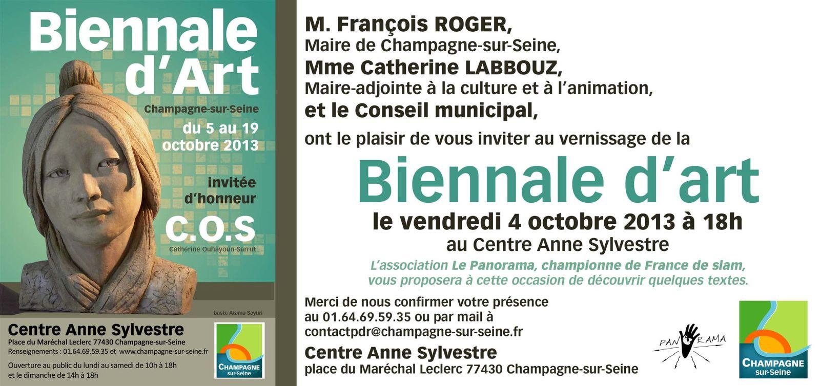 Biennale d'art de Champagne-sur-Seine