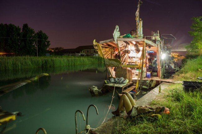 surleweb: cabanes flottantes ...
