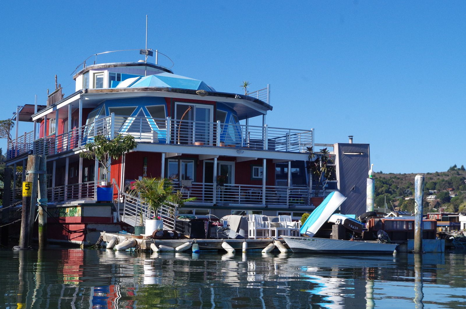 Sausalito, les fameux house-boats