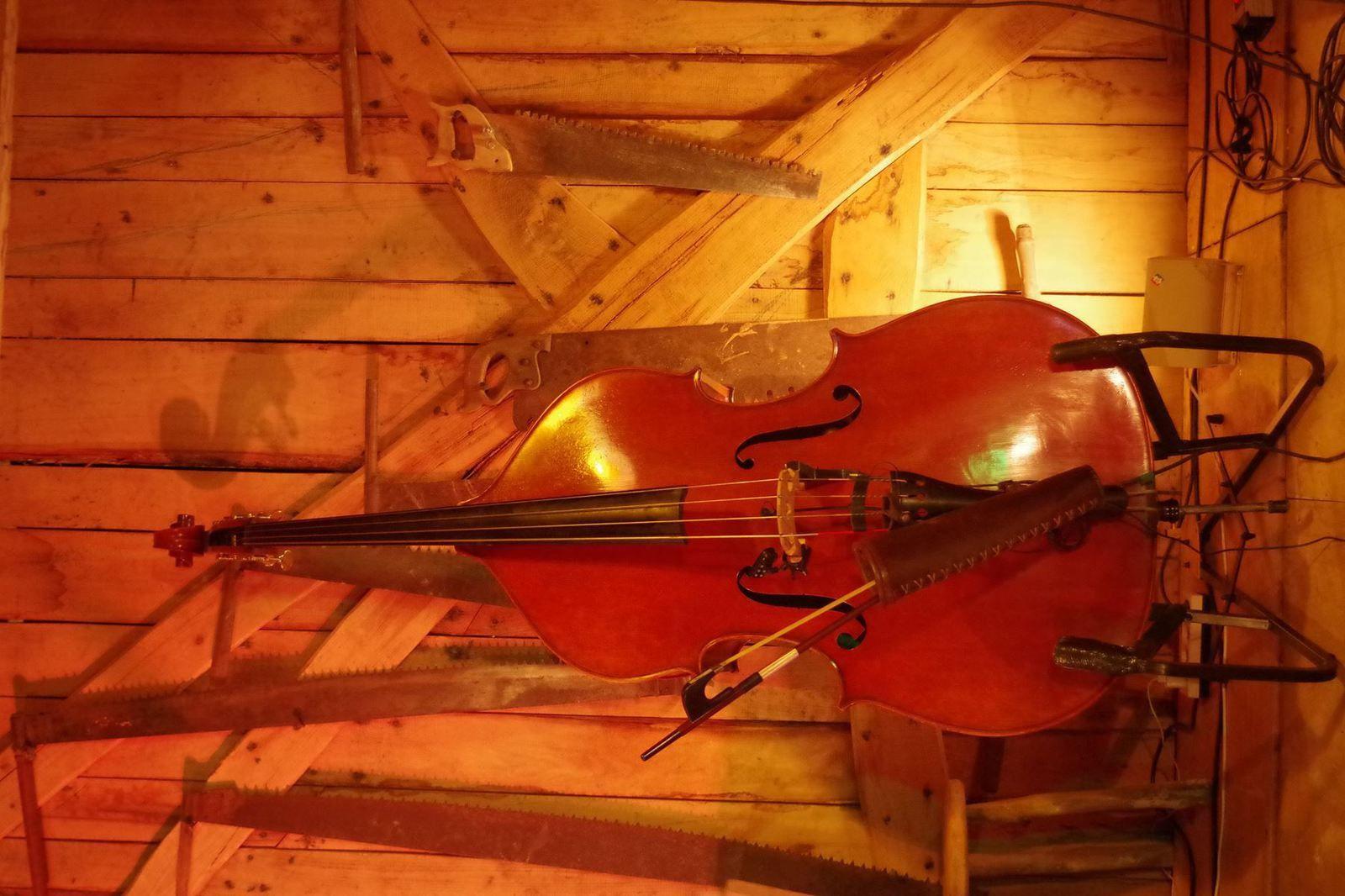 Accordéon, violon et gros velours