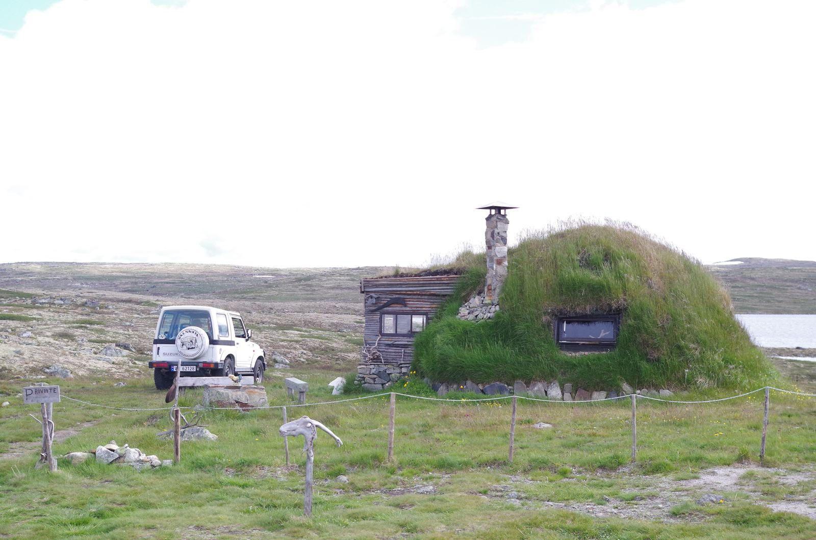 sur les hauts plateaux Norvégiens (oulala au moins 1000m)