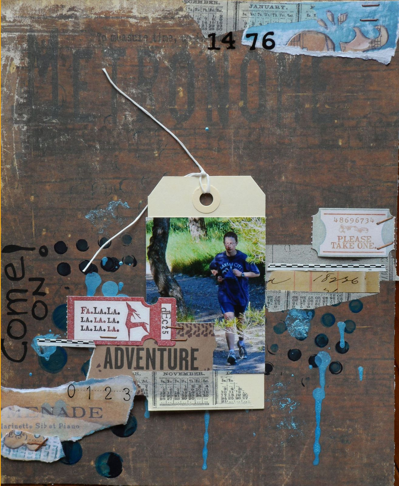 National scrapbooking day - Challenge 5