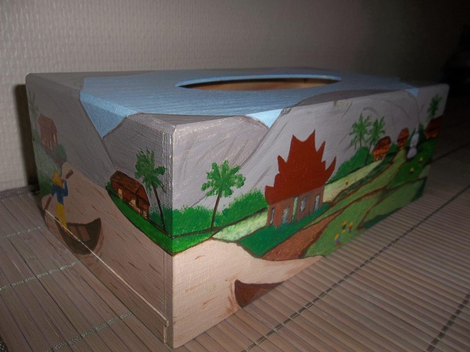 Boîte à mouchoirs Vietnam