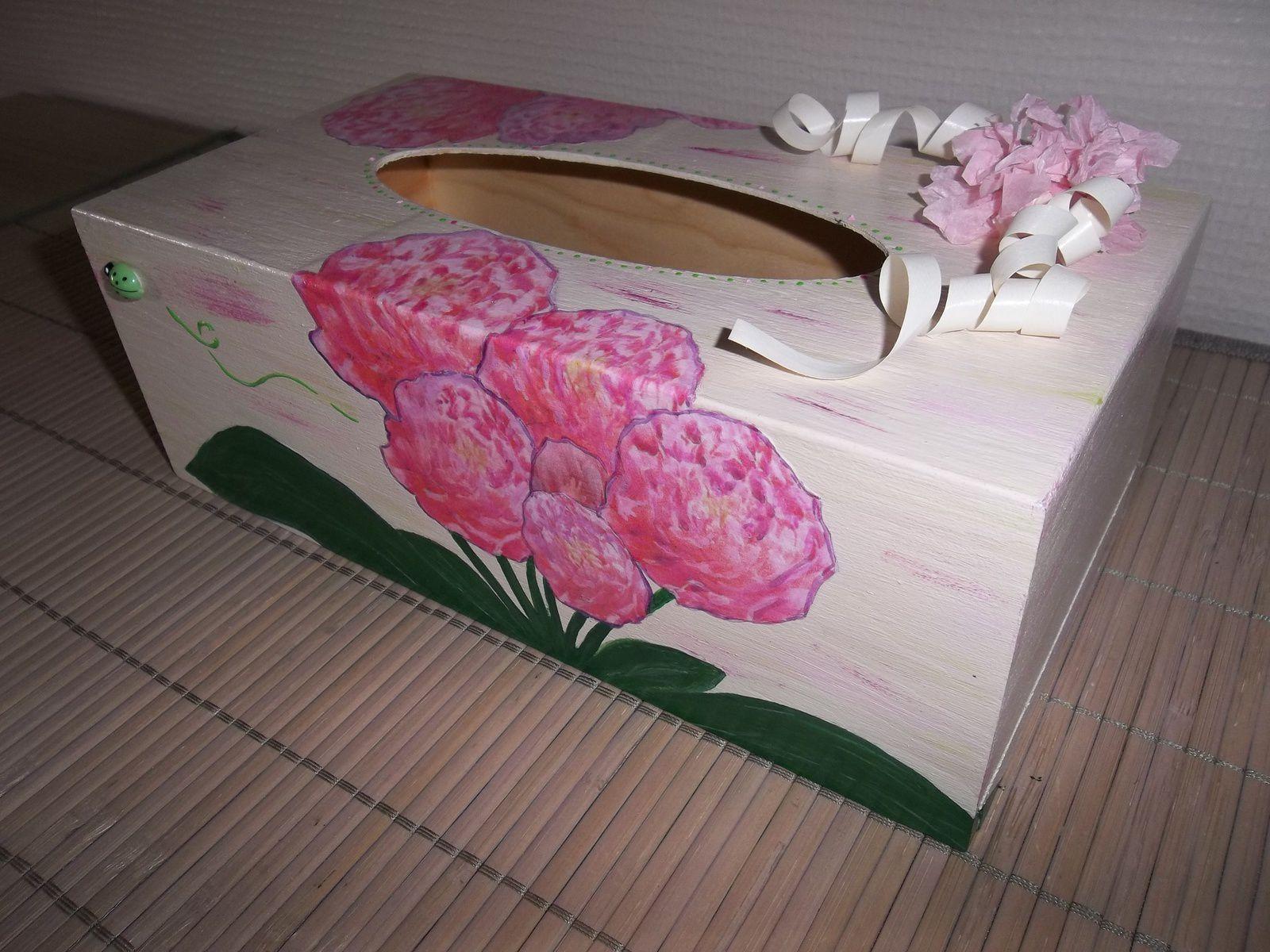 Boîte à mouchoirs nature